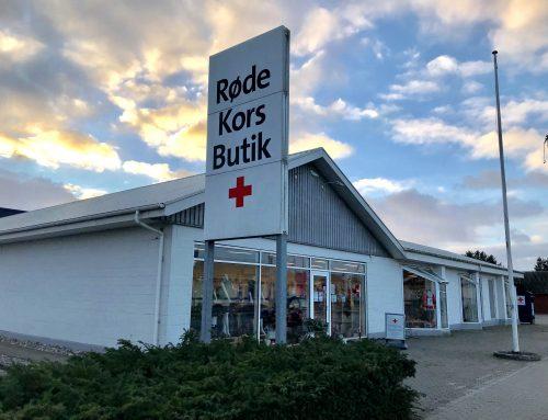 Røde Kors-afdelingen i Ribe er i gang med at planlægge uddelingen af julekurve.