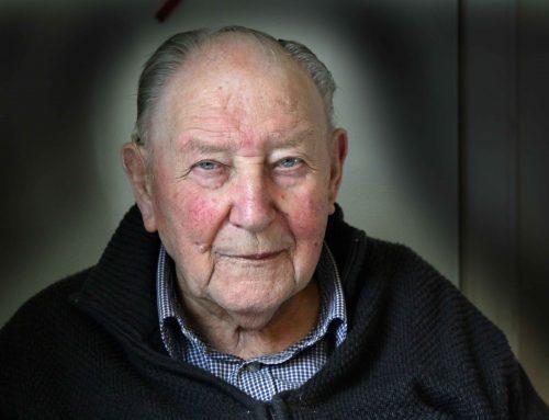 92 årige Frederik Sandersen er en unik fortæller – har i mere end 60 år boet med sin kone Dora på Vesterbækvej 1