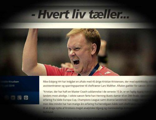 REHH: Trænerkabalen er gået op – Kristian Kristiansen tiltræder straks.
