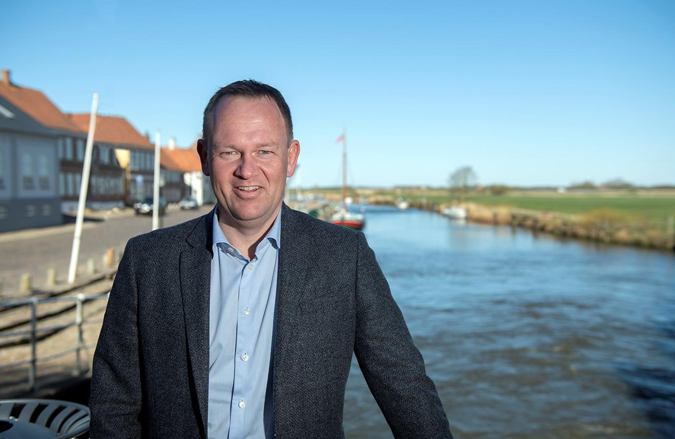 Borgmester Jesper Frost Rasmussen