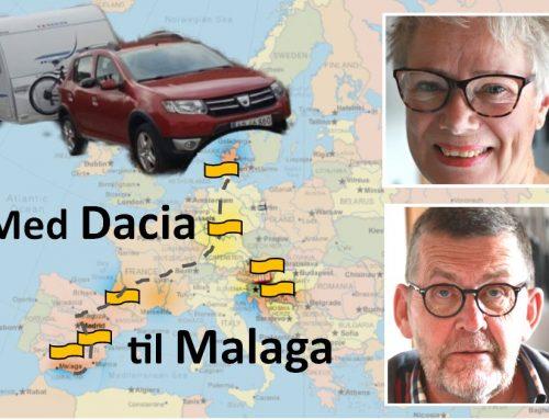 Drømmeturen over Zaragoza og Madrid til Malaga er snakket grundigt igennem af Karen og Rolf