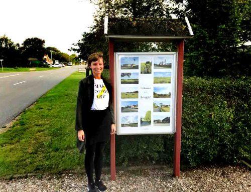 Nye flotte plakater er nu blevet monteret i bytavlerne i Roager