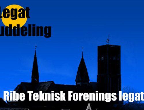 Uddeling af Ribe Teknisk Forenings Legat.