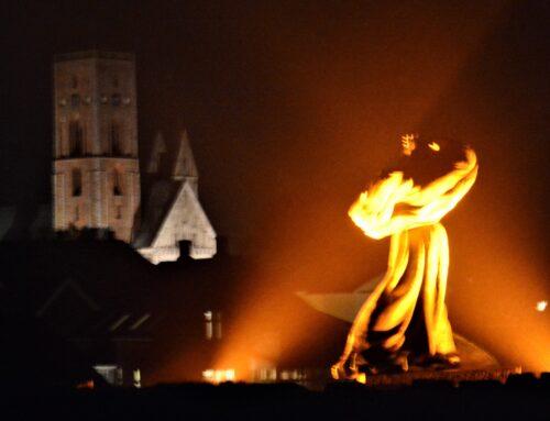 Det orange lys vil igen i år opfordre til at stoppe volden mod kvinder