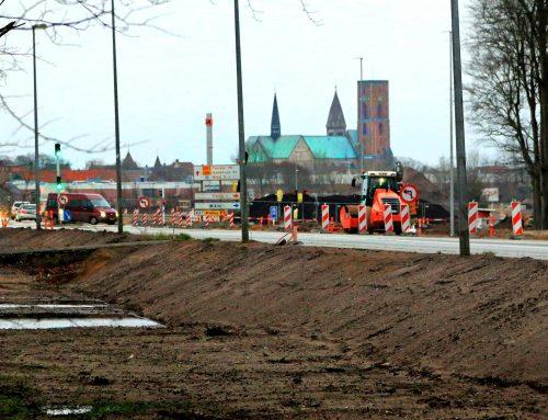Plantagekrydset skal ombygges sidst i februar