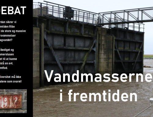 DEBAT – hvordan kan åen og kammerslusen på sigt klare de store vandmasser?