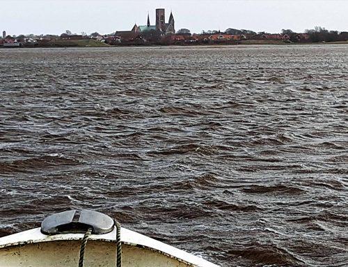 Viking var på sejltur i Ribe Vesterå og kom ad åslyngen frem til Bjerrumvej