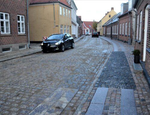 Sønderportsgade er atter åbnet for kørende trafik